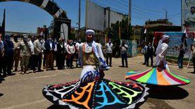 فنون شعبية وعروض استعراضية في يوم السياحة العالمي بمعابد الكرنك