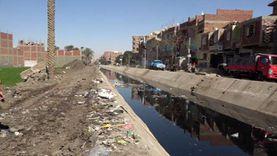 أهالي «العزيزية» عن «ترعة القمامة»: معندناش خدمات ومش بنرمي لوحدنا