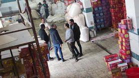 ضبط مصنع «سناكس» بدون ترخيص في الإسكندرية