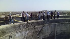 إحلال وتجديد محطة معالجة الصرف الصحي الرئيسية ببورفؤاد
