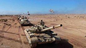 فيديو.. الجيش الوطني الليبي ينفذ مناورة عسكرية بالذخيرة الحية