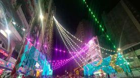 الإسكندرية تتزين أول ليالى رمضان 2021: «حبال النور مالية الشوارع»