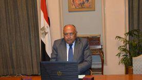 شكري يؤكد على دعم مصر لجهود تعزيز التعاون الجنوب جنوب والقضاء على الفقر