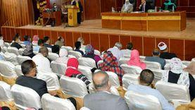 محافظ أسوان يفتتح فعاليات مؤتمر المجلس الإقليمي للسكان