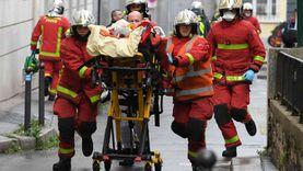 """إصابة 4 أشخاص.. التفاصيل الكاملة لحادث طعن """"شارلي إيبدو"""""""