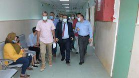 زكى: مستشفى جامعة قناة السويس يستقبل 200 طالب يوميا للكشف والفحوصات