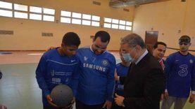 محافظ المنيا يشدد على سرعة تنفيذ نادي متحدي الإعاقة بمساحة 10 أفدنة