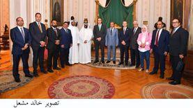 أمين مجلس النواب يستقبل عددا من أمناء عموم البرلمانات العربية (صور)