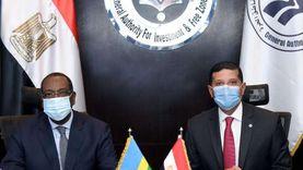 رئيس هيئة الاستثمار يستعرض تجربة مصر بالمناطق الحرة مع سفير رواندا