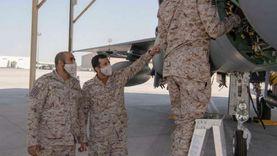 القوات الجوية الملكية السعودية تشارك في مناورات تمرين علم الصحراء 2021 بقاعدة الظفرة الجوية