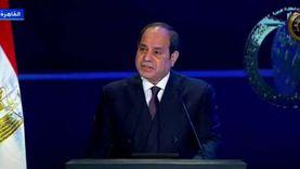 السيسي: استقرار الوضع في مصر تجسيد لإرادة الدولة الصلبة وشعبها العظيم
