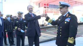 """بالفيديو.. القوات البحرية تحتفل بتدشين """"الغواصة الجديدة"""""""