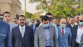 """""""رشاد وصبحي"""" يفتتحان ملاعب ومجمع سكواش مستقبل وطن بعد التطوير"""