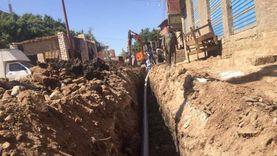 خدمات مياه وصرف صحي بمركز ومدينة المنيا بقيمة 378 مليون جنيه