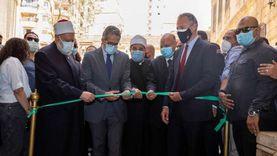 افتتاح قبة ضريح الإمام الشافعي بعد أعمال ترميمه