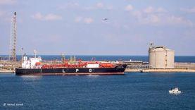 80 ألف طن رصيد القمح في مخازن القطاع الخاص بميناء دمياط