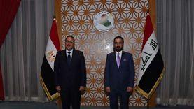 مدبولي يلتقي رئيس مجلس النواب العراقي