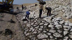 73 % نسبة التنفيذ بمشروع حماية مدينة طابا من أخطار السيول