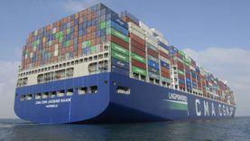 """أكبر سفينة حاويات """"صديقة للبيئة"""" تعبر قناة السويس لأول مرة"""