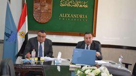 رئيس جامعة الإسكندرية: لا تهاون مع المخالفين للإجراءات الوقائية