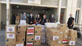مصر تقدم طن ونصف مساعدات طبية لمستشفى رفيق الحريري