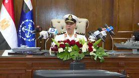قائد القوات البحرية: حققنا قفزة في التسليح تصل لـ35 عاما