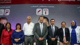 مرشحو النواب بمدينة نصر ومصر الجديدة يحتفون بالمرأة