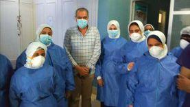 يتبقى 26 حالة فقط.. ارتفاع نسبة التعافي من كورونا بمستشفيات البحر الأحمر