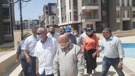 """نائب رئيس """" المجتمعات العمرانية """" يتفقد عدداً من مشروعات""""الإسكان"""" والطرق بمدينة الشيخ زايد"""
