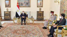 السيسي: نتطلع لتطوير التعاون مع باكستان لمكافحة الإرهاب والفكر المتطرف
