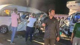 إصابة 3 أشخاص في تصادم سيارتين بطريق «مطروح - الإسكندرية»