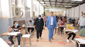 """نائب رئيس جامعة أسيوط يتفقد اختبارات القدرات بـ""""التربية النوعية"""""""