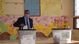 رئيس جامعة سوهاج يدلي بصوته في انتخابات النواب ويشيد بإجراءات الوقاية