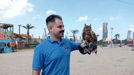 مهرجان للحيوانات الأليفة والزواحف النادرة والمفترسة بشاطئ بورسعيد «فيديو»