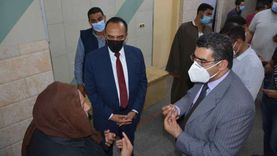 نائب محافظ المنيا يتفقد المستشفى العام للتأكد من توافر المستلزمات