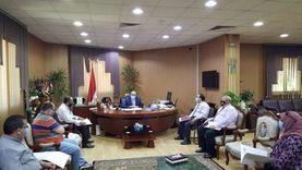 جامعة المنصورة تبحث آليات قبول الطلاب بالمدن الجامعية في ظل كورونا