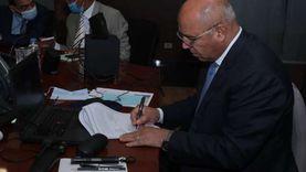 كامل الوزير ووزير النقل السوداني يوقعان وثيقة التعاون المشترك فى مجال الربط السككى