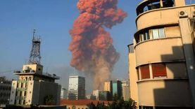 ماكرون وعون يتفقدان موقع انفجار بيروت