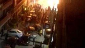 حريق يلتهم مخزن أدوات كهربائية بكرداسة دون إصابات