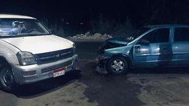 إصابة 10 مواطنين في 3 حوادث على صحراوي وزراعي المنيا