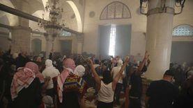 عاجل.. تجدد المواجهات في ساحة المسجد الأقصى بالقدس