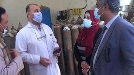 توفير سرير عناية لمصاب بكورونا خلال جولة مفاجئة لمسؤولي الصحةبمستشفى