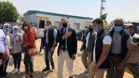 وزيرة التعاون والسفير الأمريكي يتفقدان محطة المحاصيل جنوب الأقصر