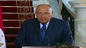 وزير الخارجية امام لجنة الشئون الأفريقية بالنواب غدًا