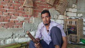 «جابر حسن» مدرس احترف مهنة صناعة الأثاث بالبحيرة: ارتبطت بها من صغري