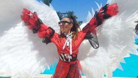 تجار السعادة.. فرق «الأنيميشن» تزيد فرحة العيد بفنادق الغردقة (صور)