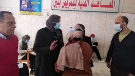 وكيل «صحة كفر الشيخ» تتفقد امتحانات التمريض