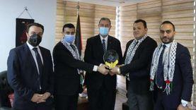 سفير فلسطين يطلع نواب تنسيقية شباب الأحزاب على تطورات العداون الإسرائيلي