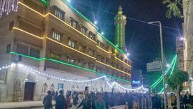صور رمضان 2021.. المئات يصلون التراويح بمسجد شرق المدينة بالإسكندرية