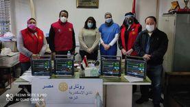 «روتاري الإسكندرية» يدعم مستشفى أبوقير العام بـ7 أجهزة